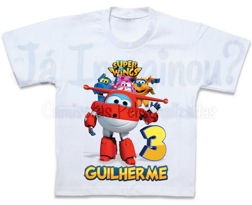 Camiseta Super Wings Jett no Elo7  d655ea3a8e6