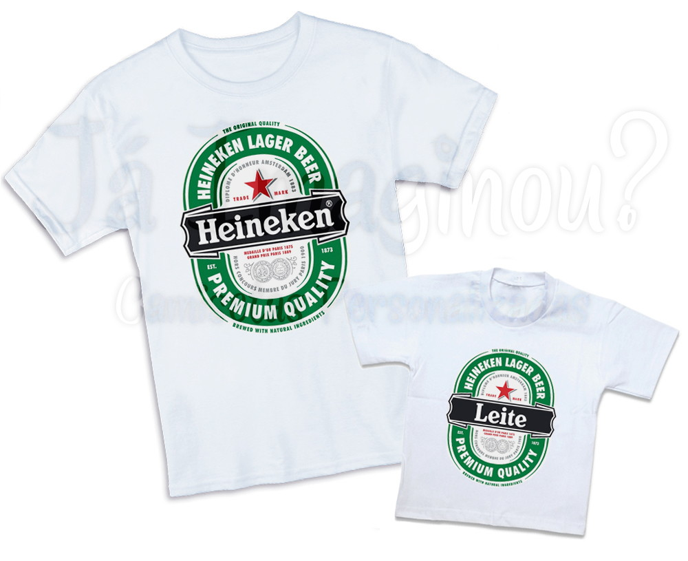 73f8aacc4e Kit Pai e Filho Heineken no Elo7