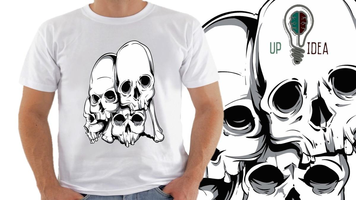 camiseta caveira mexicana s6 no Elo7  9001ce8beeb