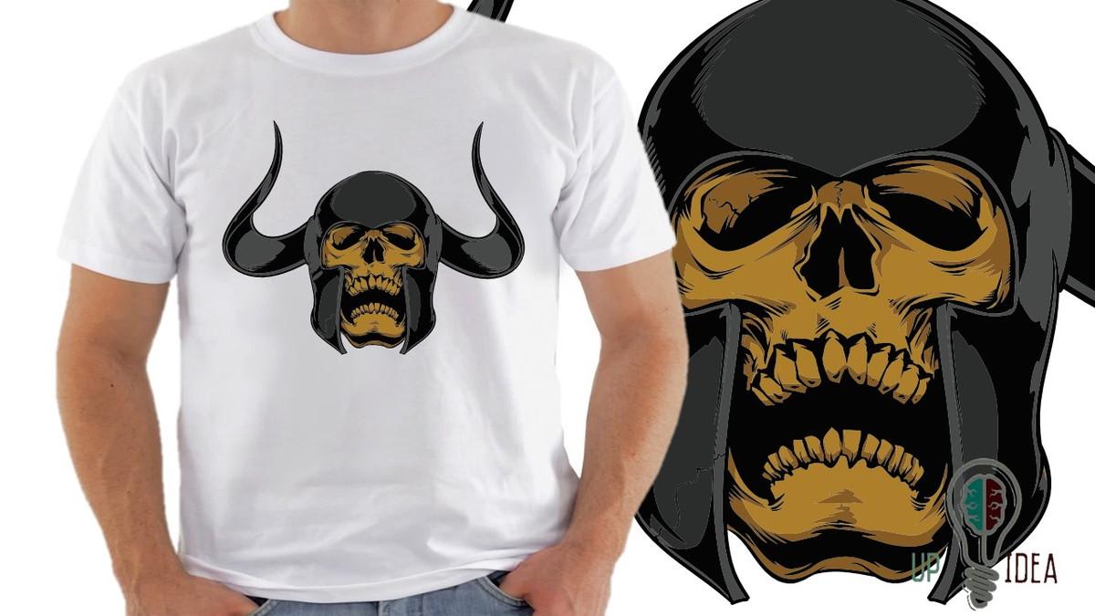 camiseta caveira mexicana s7 no Elo7  3192de53f69