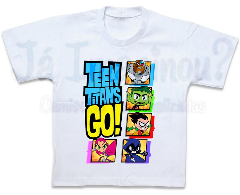 f6da4f617f Camiseta Jovens Titãs em Ação no Elo7
