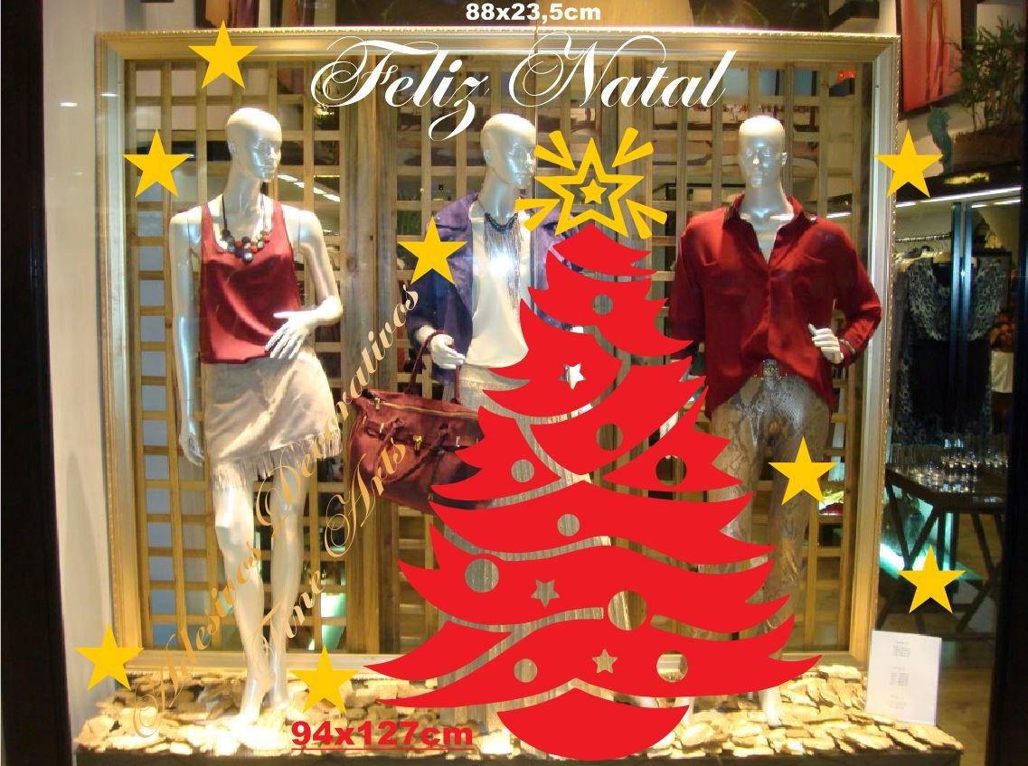 Adesivo De Natal Para Vitrine ~ Adesivo Vitrines Natal e Ano Novo no Elo7 Adesivos