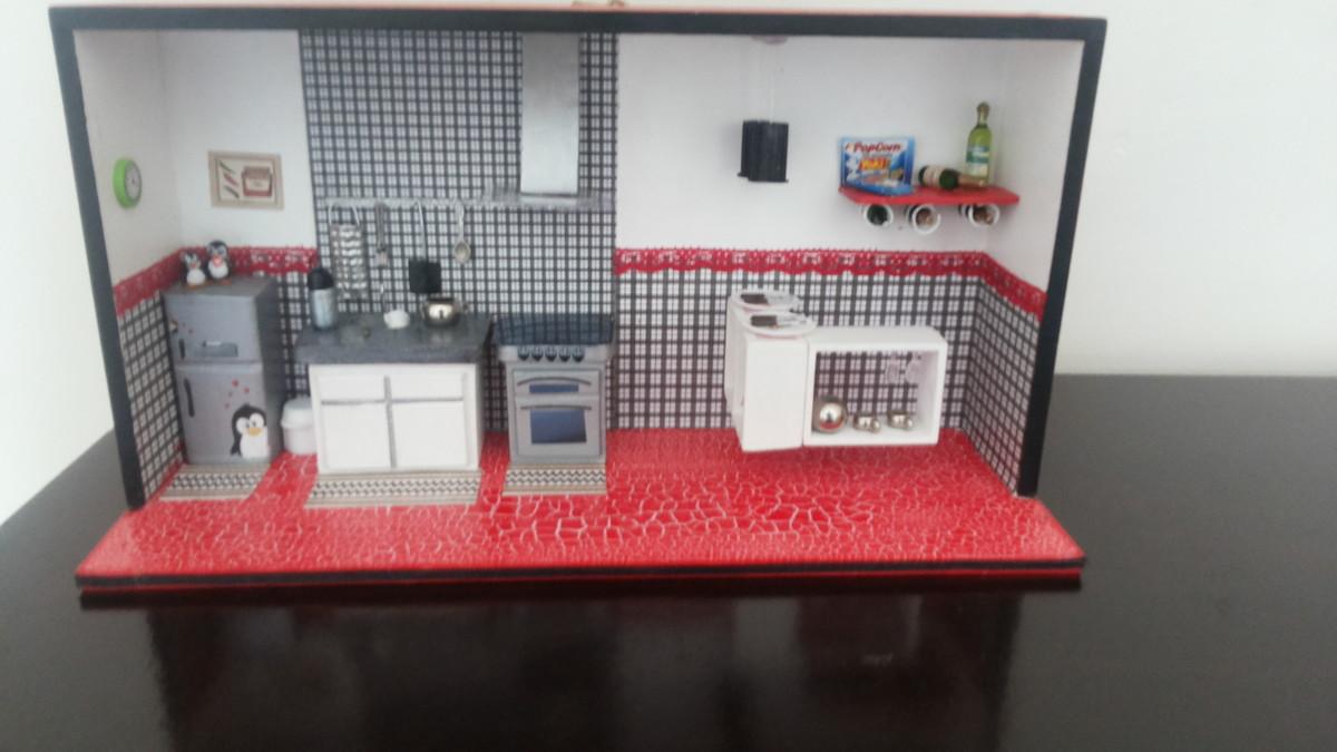 Quadro Cozinha Em Miniatura No Elo7 Ami De Miniaturas
