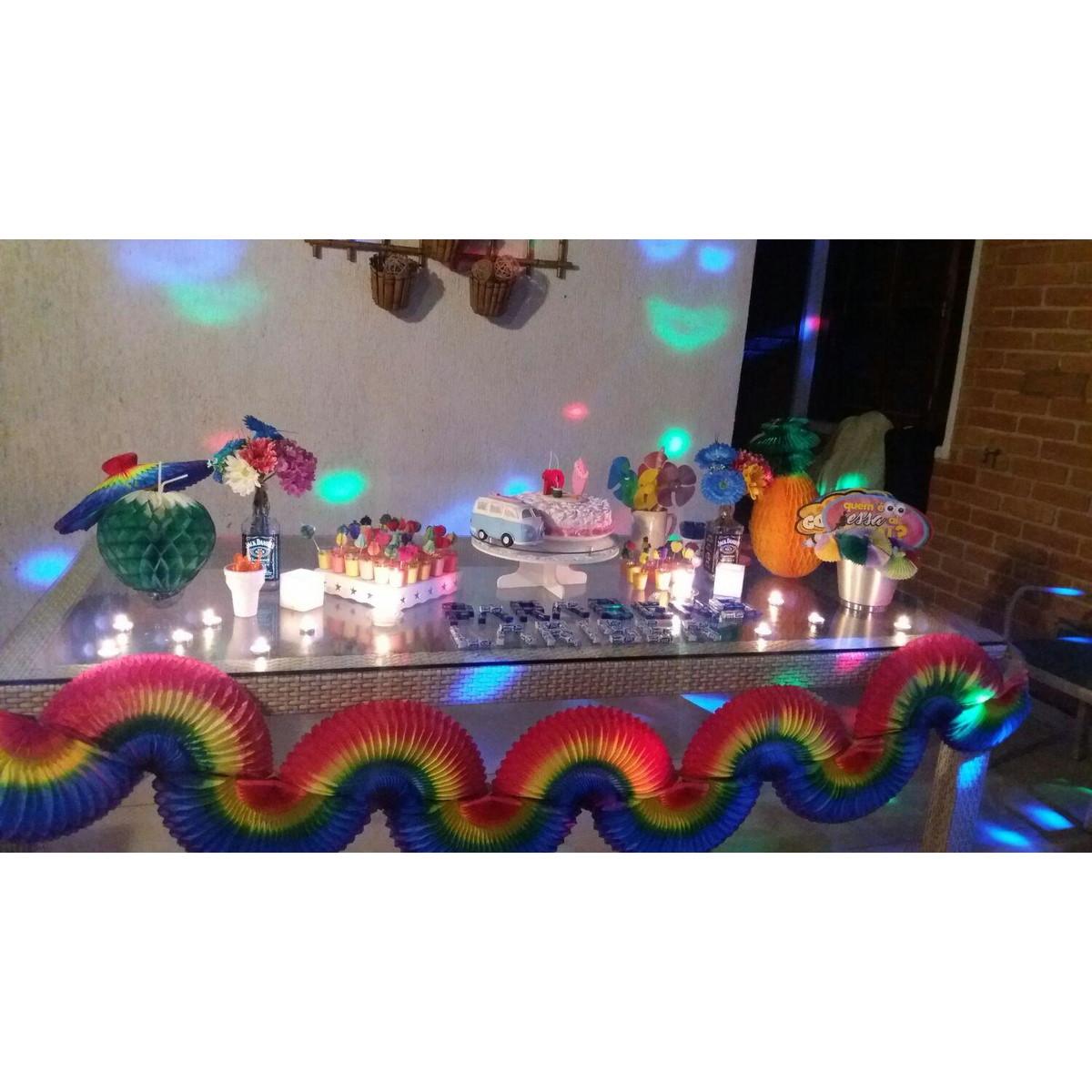 Kit Decoracao Festa Havaiana Dec Rapida No Elo7 Girotoy Enfeites