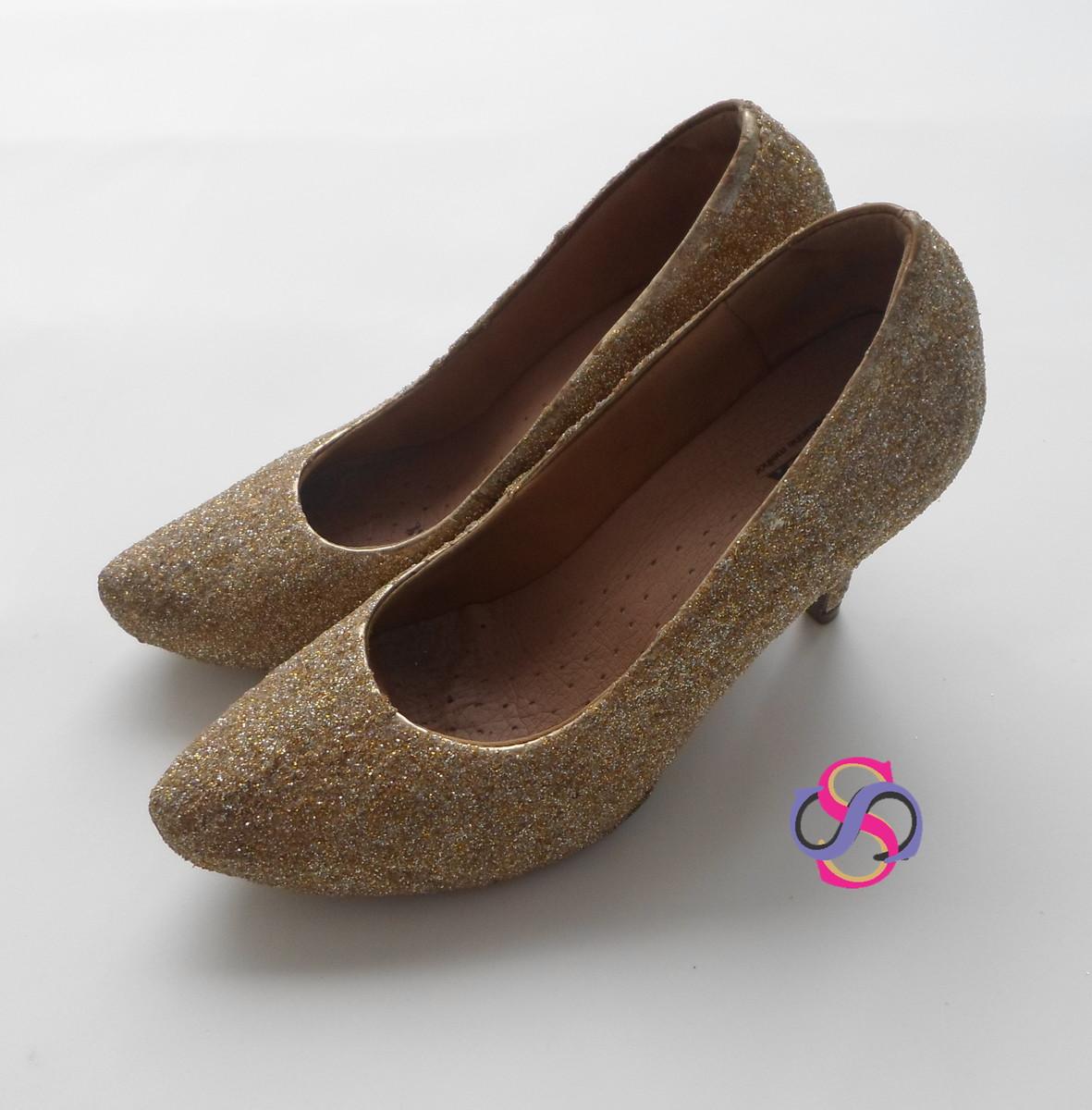 57a437c85 Sapato Brilho (festa) (15 anos) no Elo7 | Senhora Soberana (7DF63B)