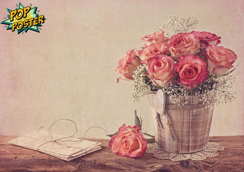 Flores Vintage No Elo7 Pop Poster 7e162b