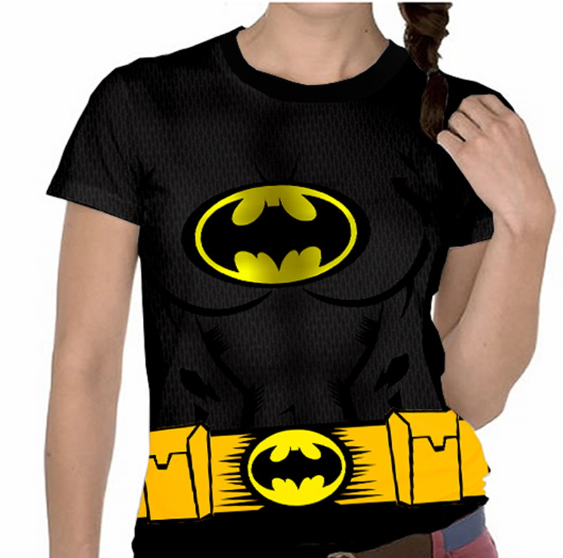 Camiseta Batman - Feminina no Elo7  dd9079b649dc0
