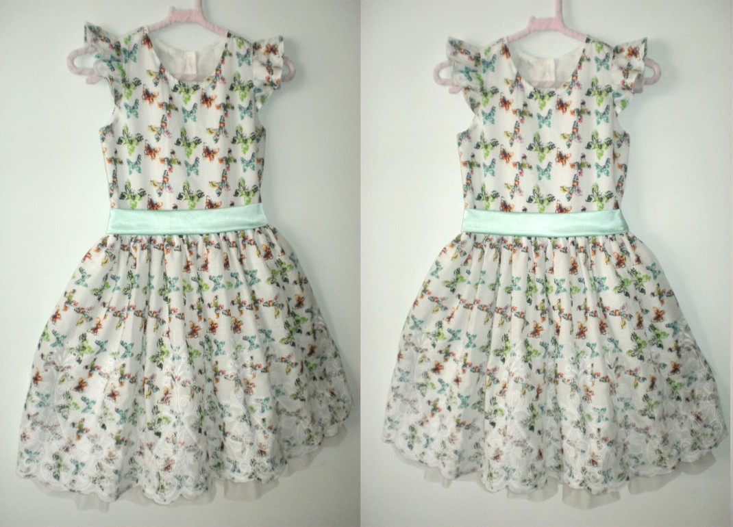 61669c7d19 Vestido Infantil de Cabraia Bordada no Elo7