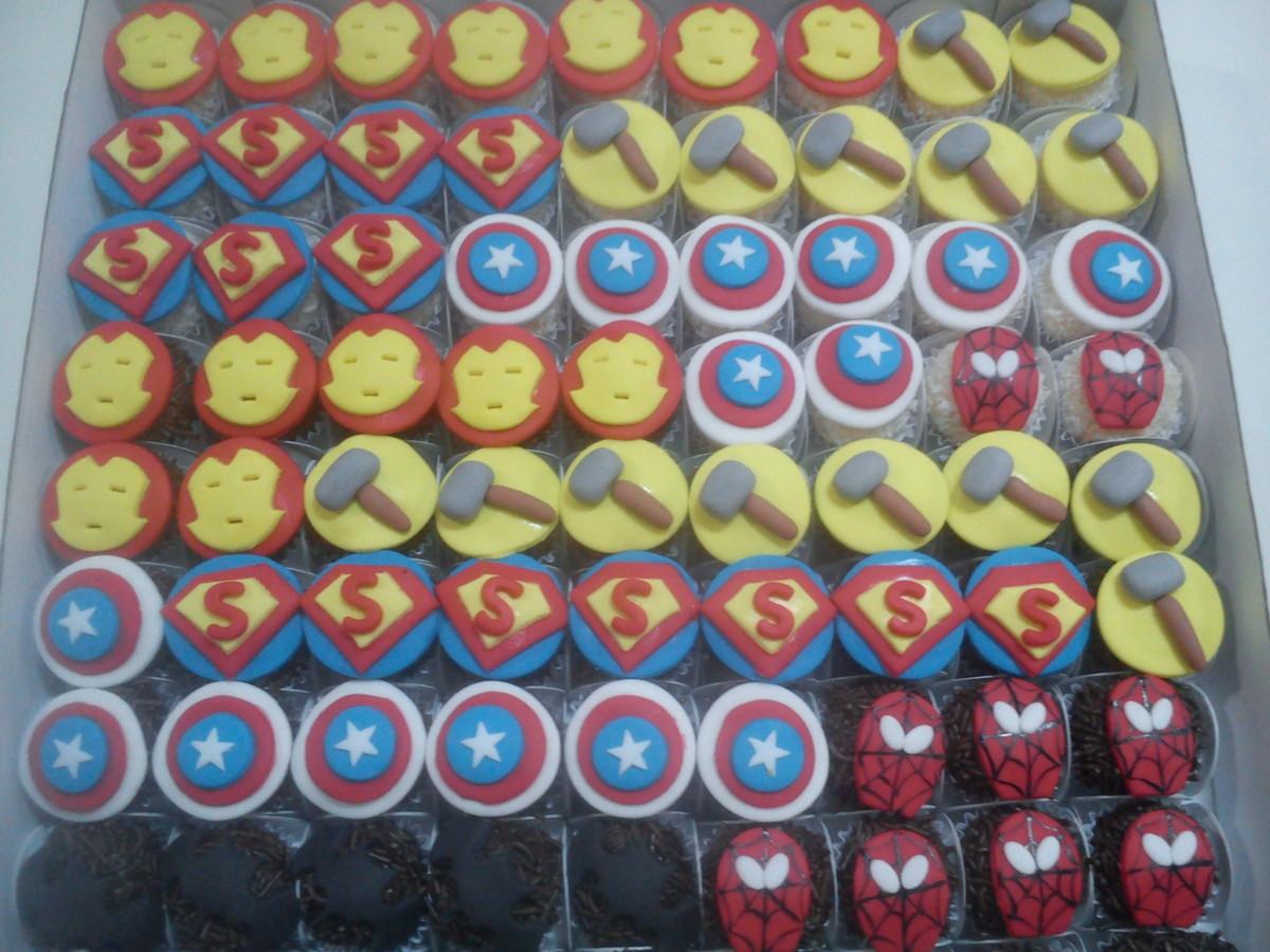 Docinho Personalizado Super Heróis No Elo7 Chocolate Sandra 7e559b