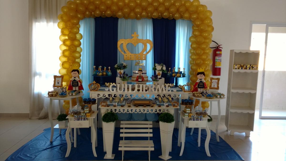 Decoraç u00e3o Provençal Realeza ou príncipe no Elo7 Atelier Doces Sonhos Festas By Vane -> Decoração De Festa Infantil Realeza