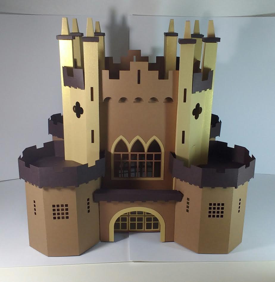 Castelo Medieval 3d No Elo7 Ts Arts Crafts 7e9231