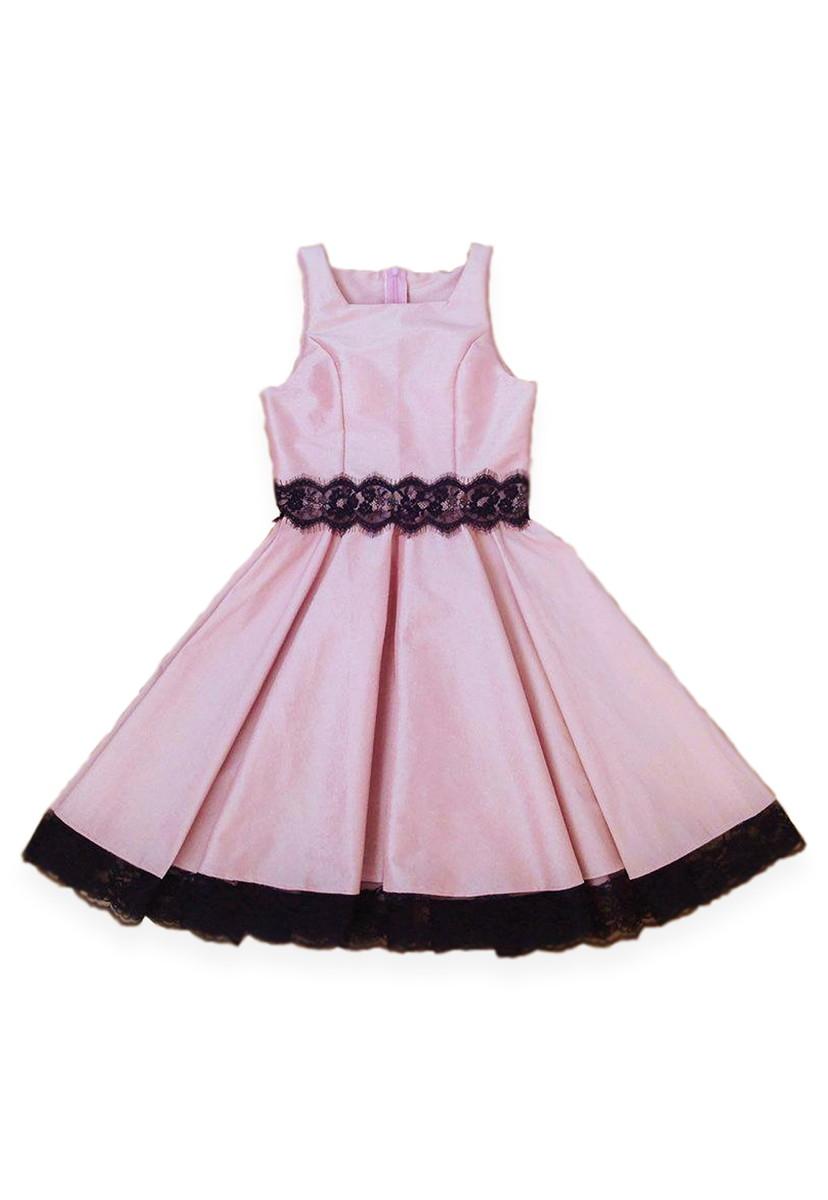 ebd64f18c Vestido para Adolecente Rosê - Teen no Elo7