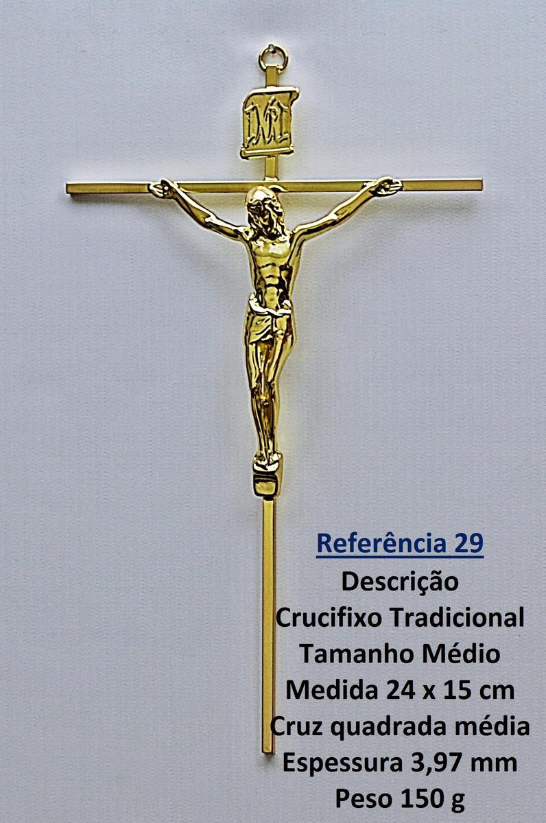 Crucifixo Parede Tradicional Ref 29 no Elo7   ROMA CrRUCIFIXOS (7EBB48) 23162e48af