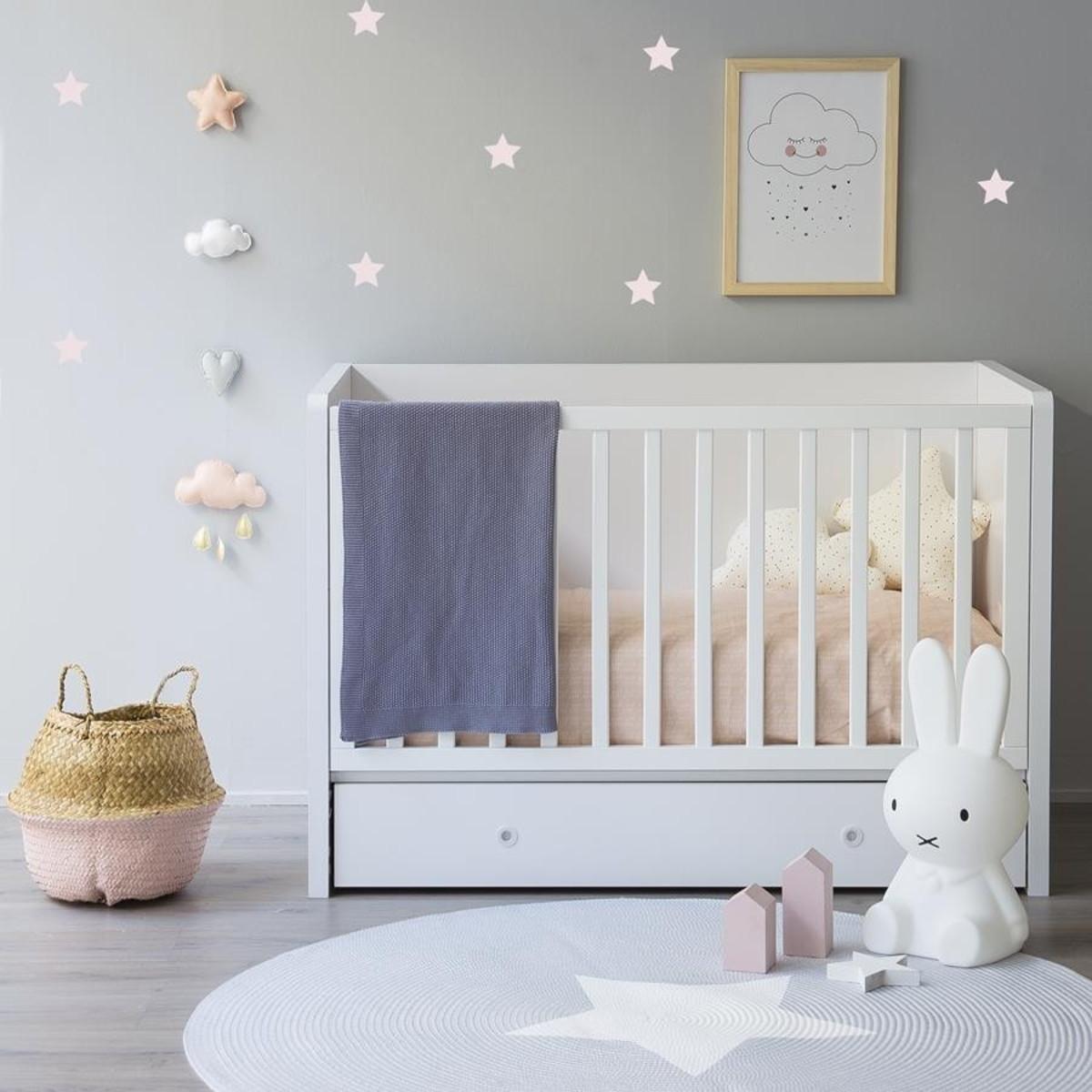 Aparador Gris Decapado ~ Adesivo estrelas rosa beb u00ea no Elo7 Quarto de Criança Lojadecoreacasa (7F368A)