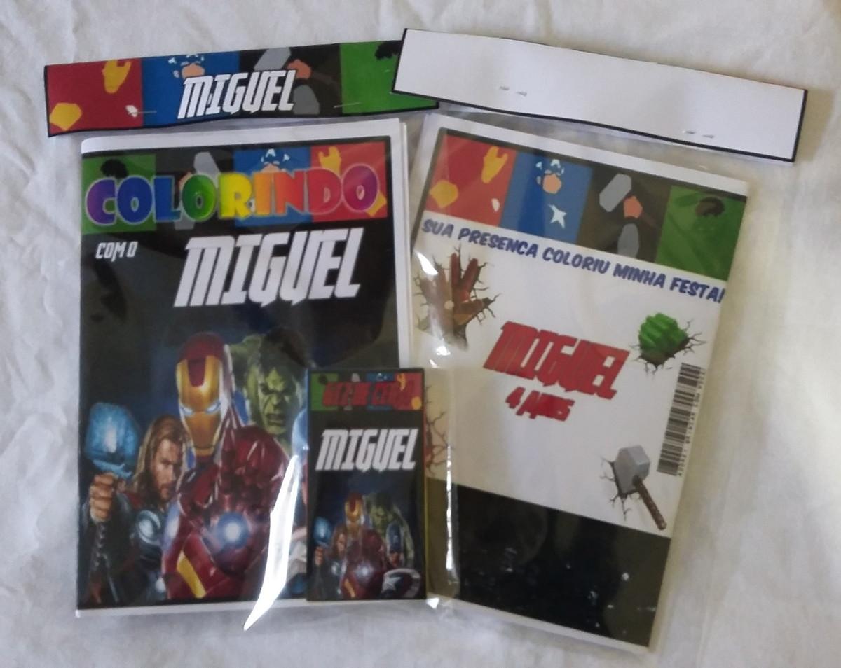 kit de colorir vingadores filme no elo7 nahked arts 7fa769