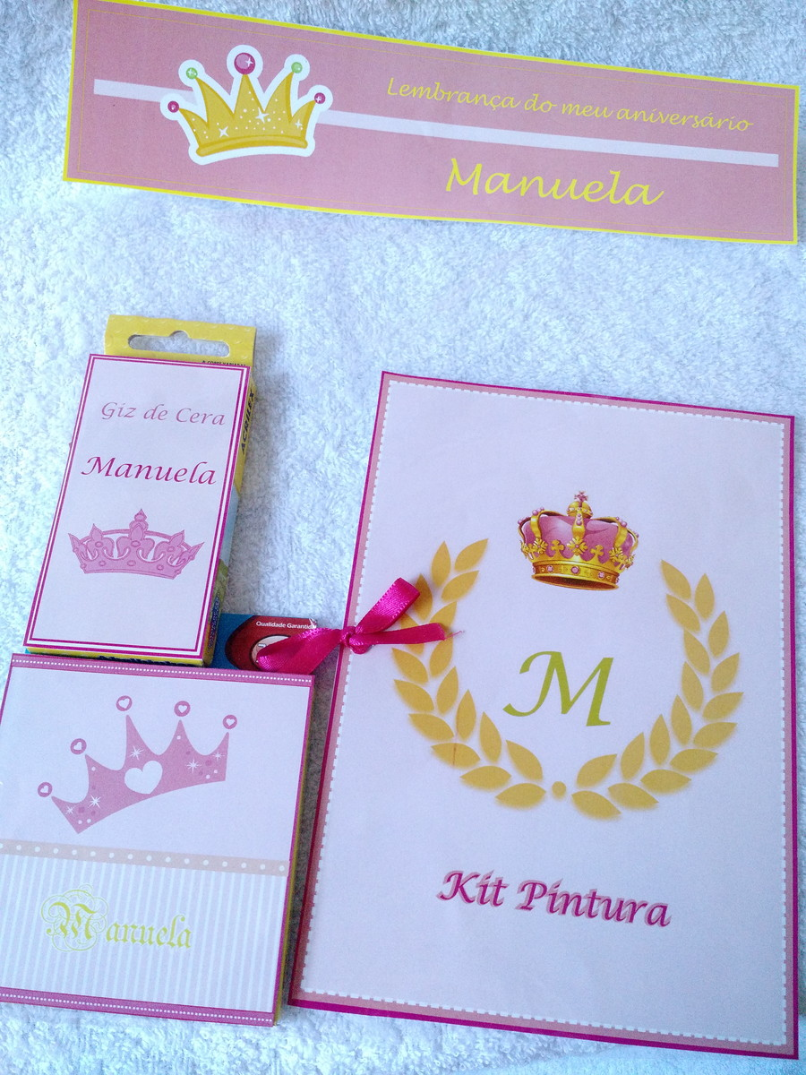 kit desenho coroa princesa 20x14 no elo7 moniquiti