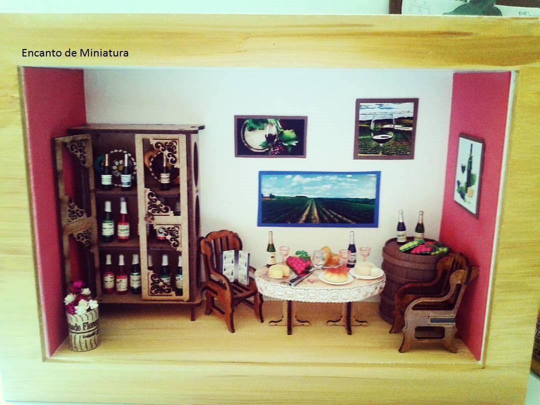 Sala De Estar No Elo7 Encanto De Miniatura 7fb78e  -> Adega Para Sala De Estar