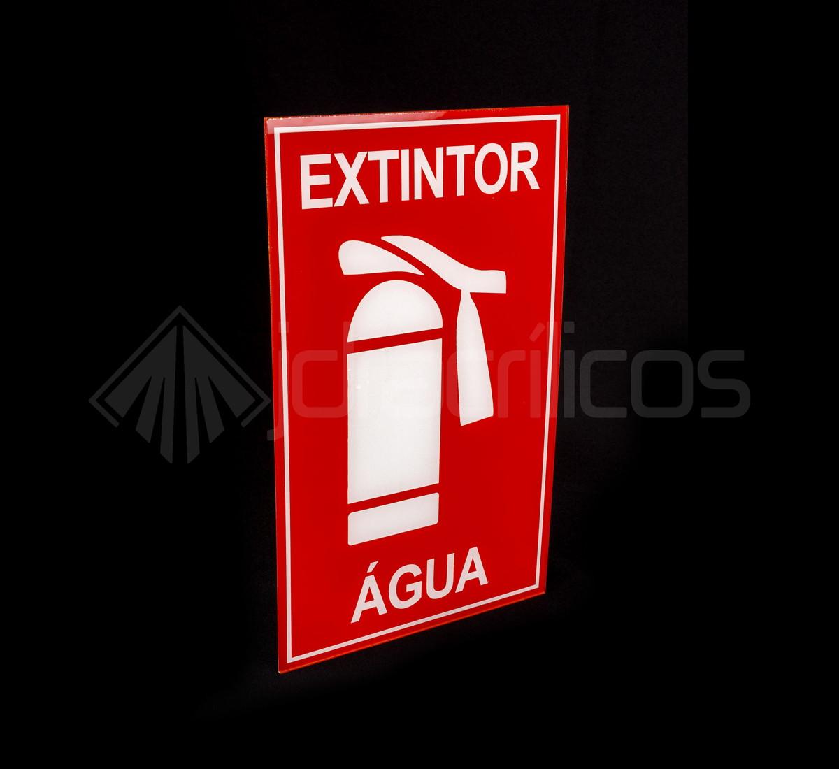Placa para sinaliza o extintor no elo7 jdr acr licos 7ff2da - Extintor para casa ...