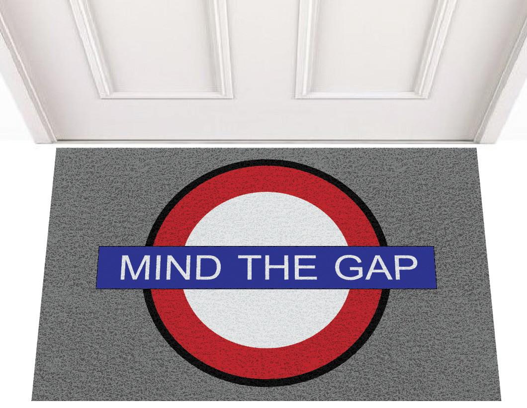 capacho mind the gap no elo7 o meu capacho 367599