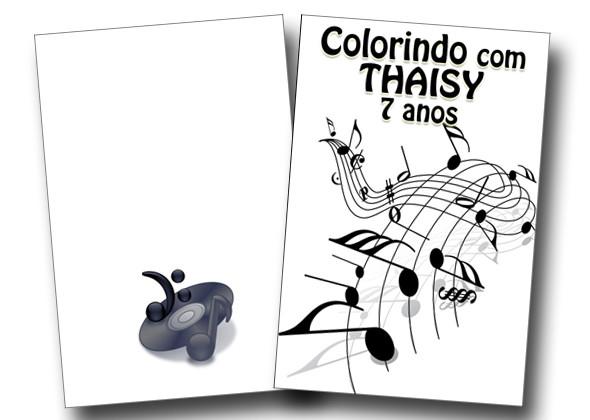 Revista Colorir Musica 14x10 No Elo7 Tudo De Festa Galvao 8017f0