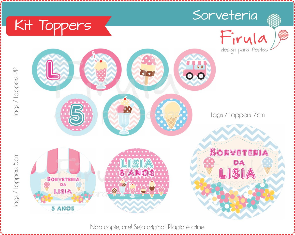 kit digital toppers sorveteria no elo7 firula festas 8066a3