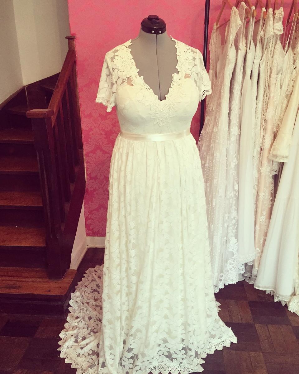 Fotos de vestidos para bodas de ouro