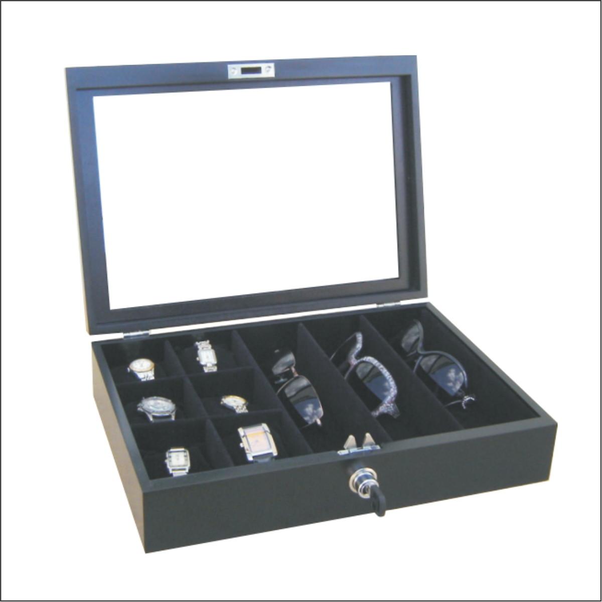 49ab3eebbe3 Caixa estojo para oculos e relógios visi no Elo7