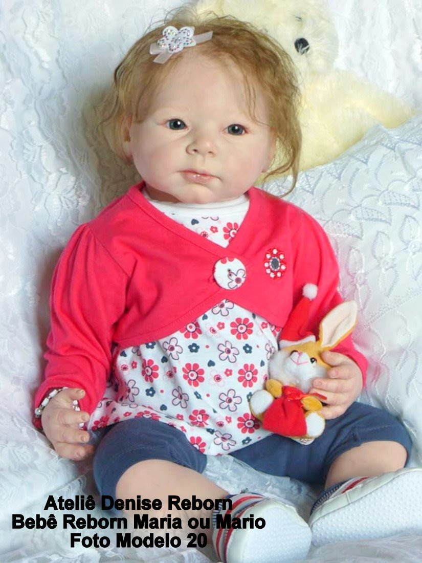 468b4e263 Boneca Bebê Reborn Maria ou Mario Kit Jonathan corpo  tecido no Elo7 ...