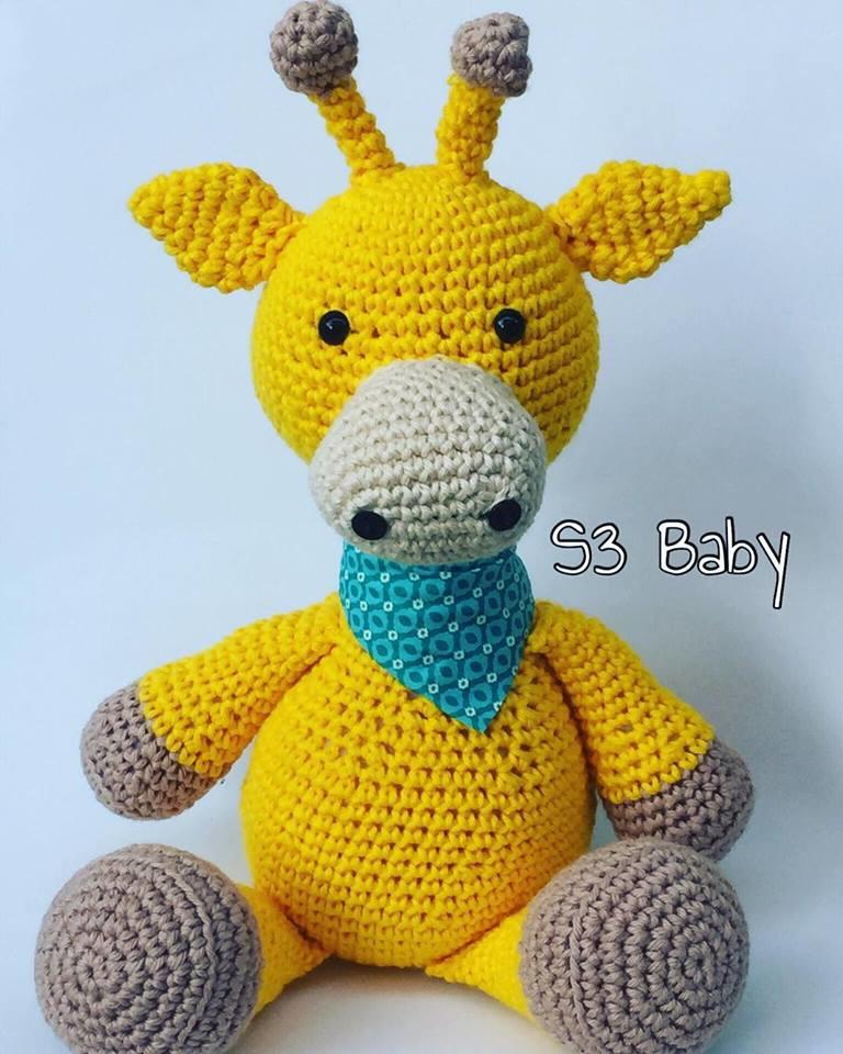 Amigurumi Peppa Pig : Girafa Amigurumi Croche s3baby Elo7