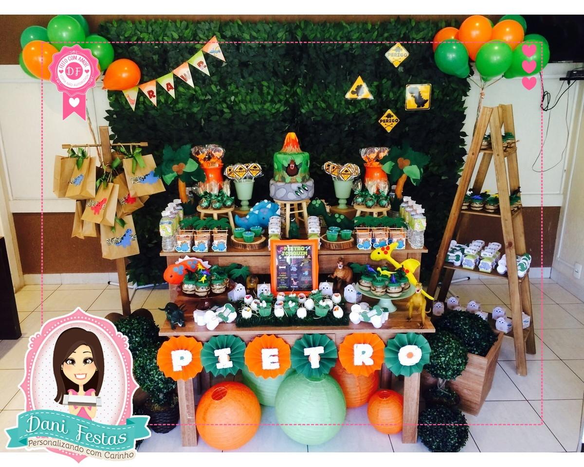 Decoraç u00e3o Para Festa Dinossauro no Elo7 Dani Festas Personalizadas (816416) -> Decoraçao De Dinossauro Para Festa Infantil