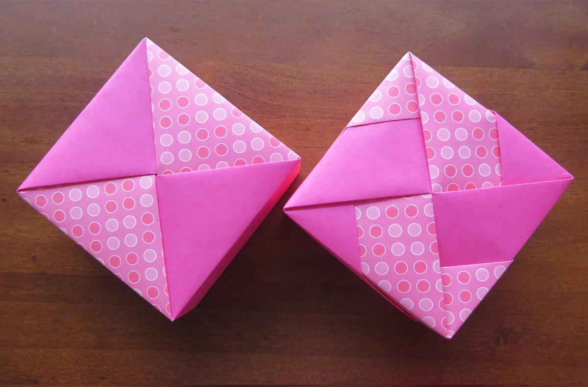 Caixa De Origami Quadrada No Elo7 Suteki By Rô 8183ff