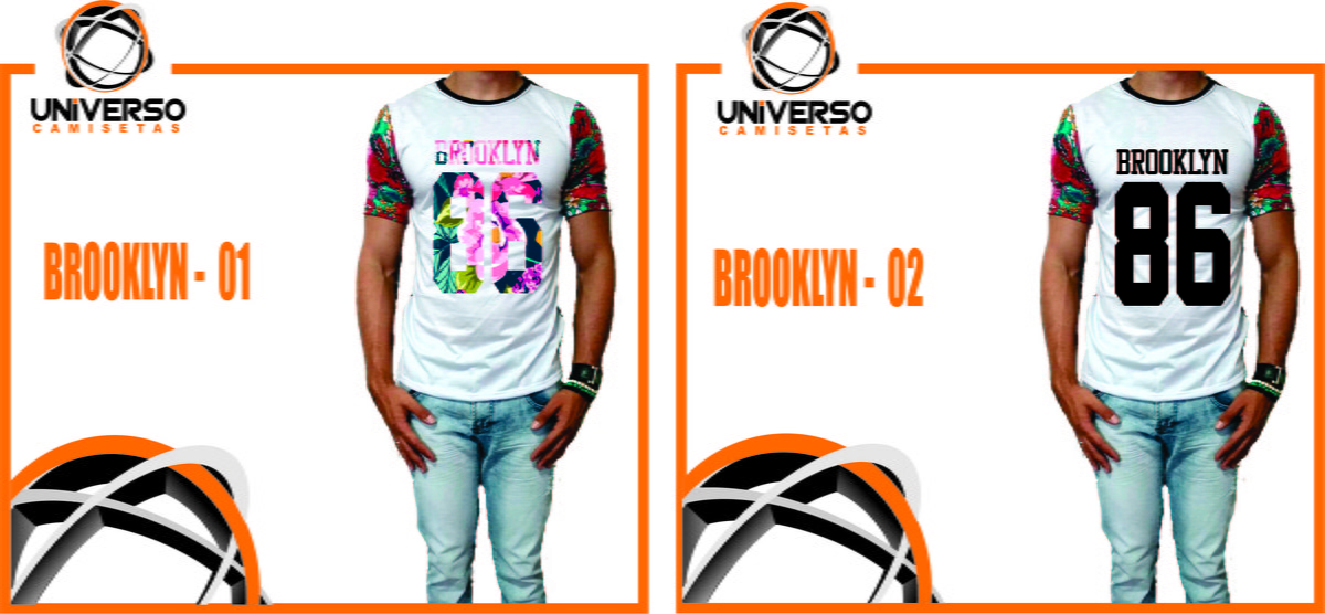 Camiseta Brooklyn 86 Swag Long Line no Elo7  abf62659d00c6