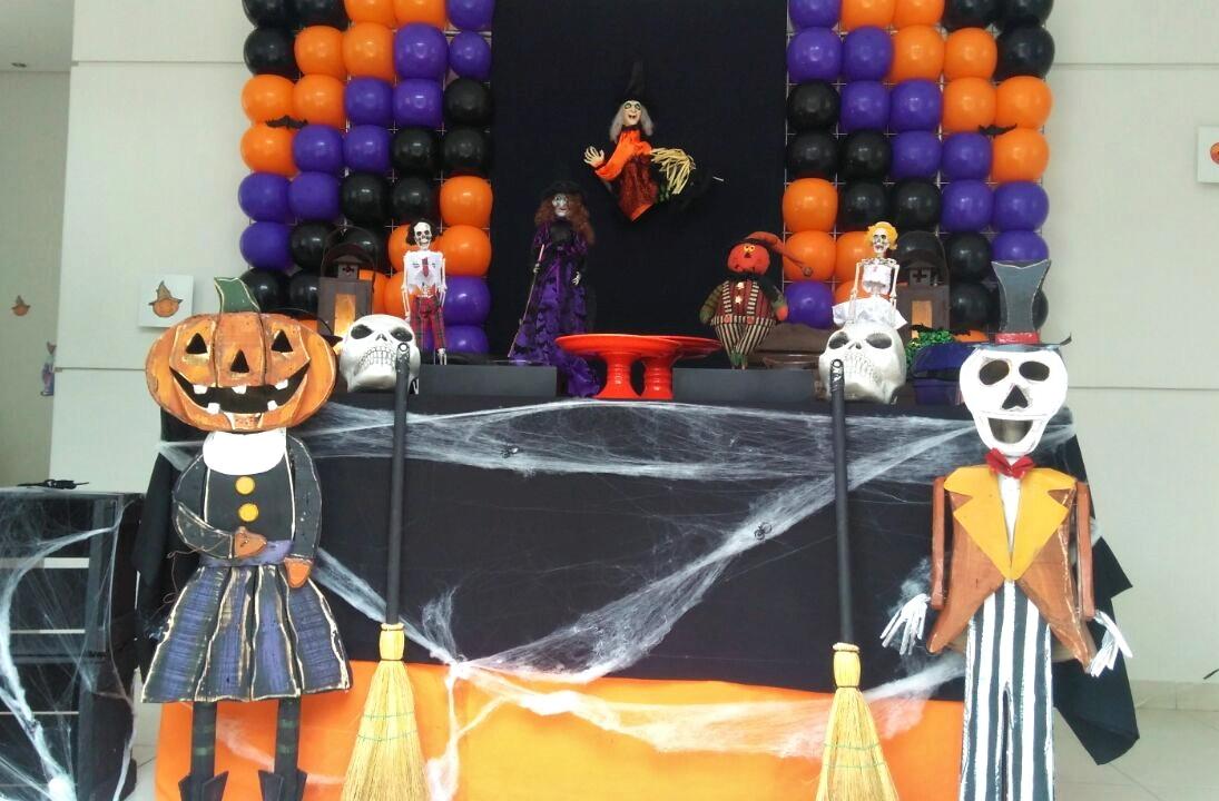 Decoracao De Festa Infantil Tema Halloween.Decoracao Halloween
