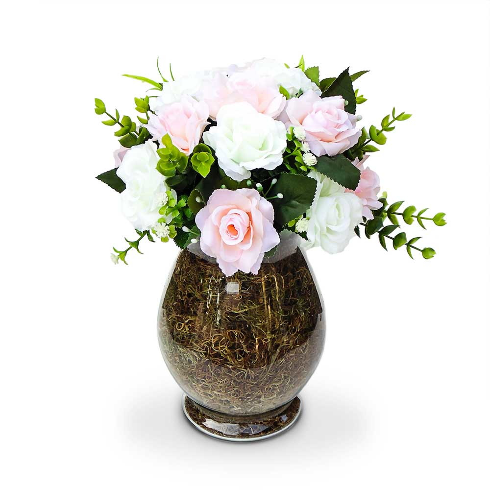 Arranjo de flores centro de mesa festa no elo7 felicitadecor 8221c0 - Centro de mesas flores ...