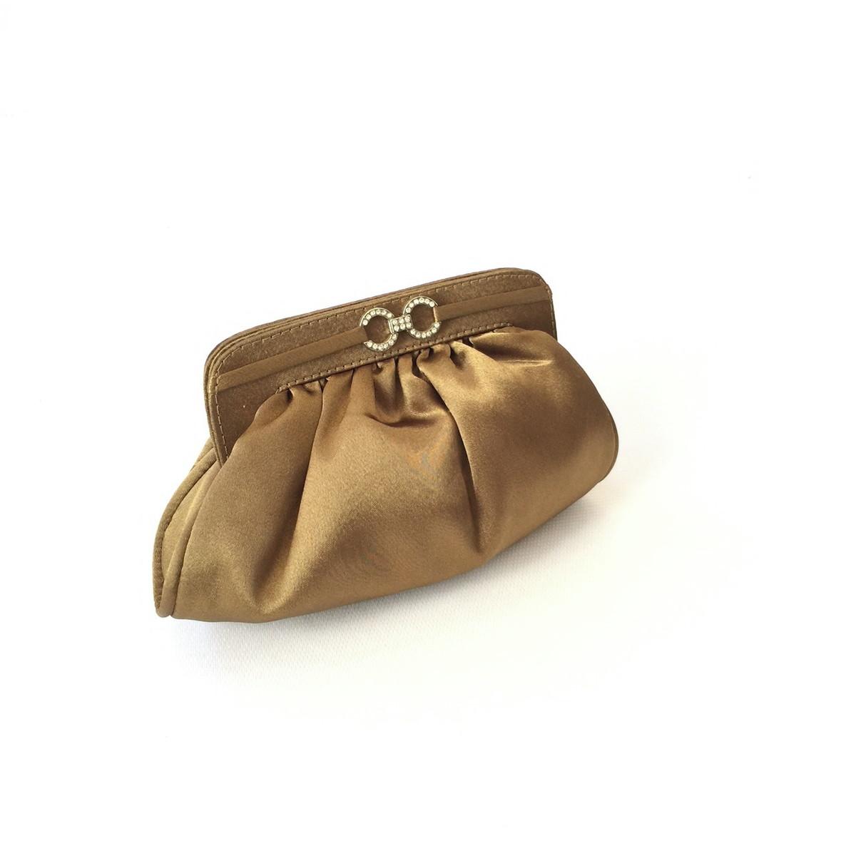 95ef6f319 Clutch de festa ouro velho cetim mini soft no Elo7 | PATRICIA ...