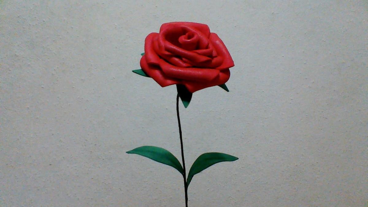 A rosa vermelha, na interpretação de Vicente Celestino - GGN  |Rosa Flor Vermelha