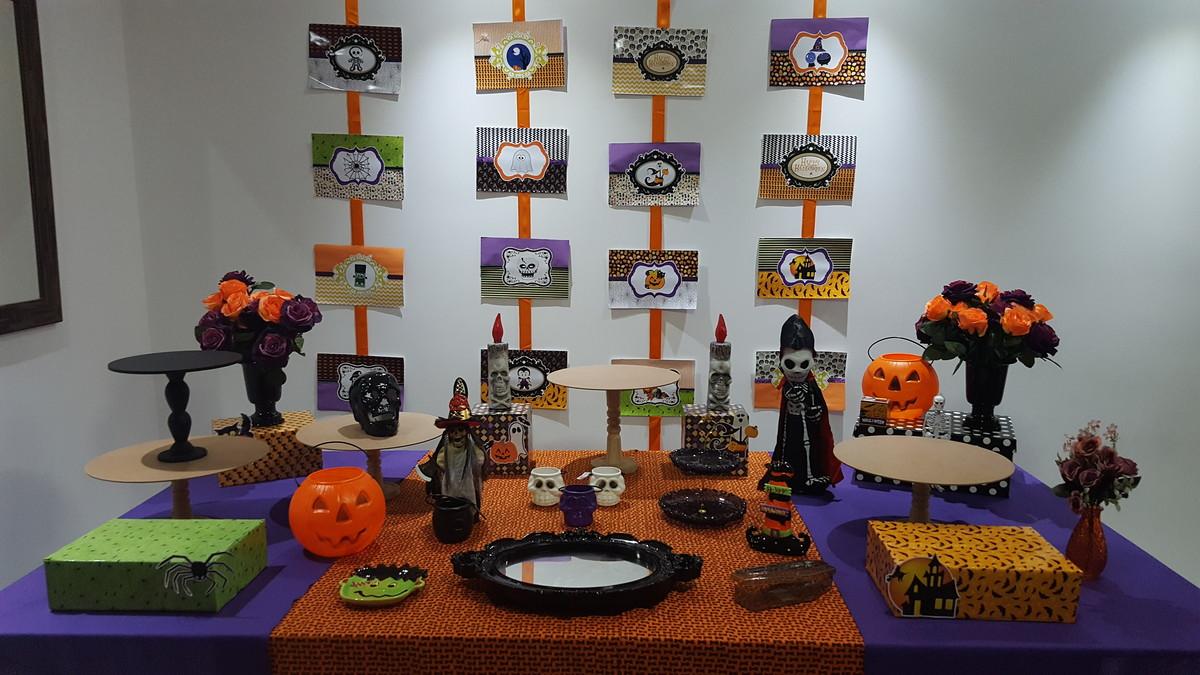 Decoraç u00e3o Festa Halloween no Elo7 Karina Penido Ribeiro (7BD5A5) -> Decoração De Festas De Halloween