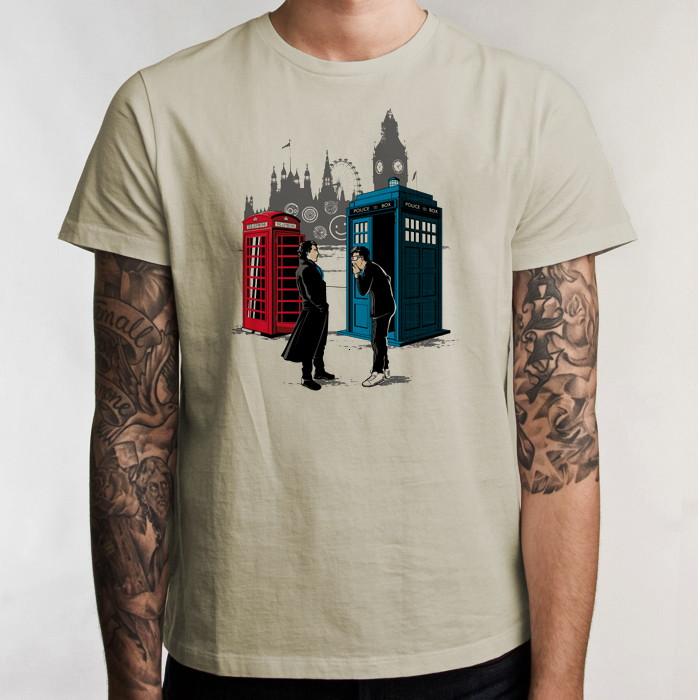 9eb7355dc Camiseta Doctor Who David Tennant 5134 no Elo7