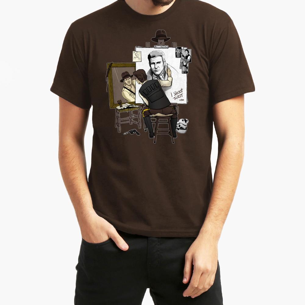 Camiseta Indiana Jones Artistic 10017 no Elo7  8e4934a6531