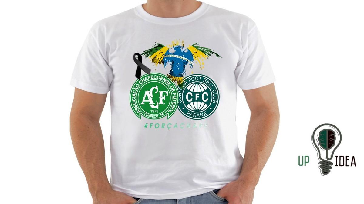 5944758da2 camiseta chapecoense  FORÇACHAPE no Elo7