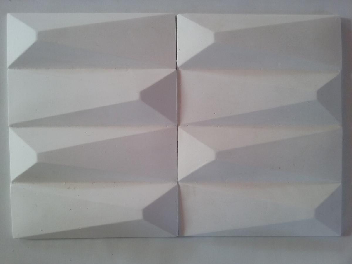 revestimento de parede 3d painel de gesso 3d revestimento de parede 3d ...