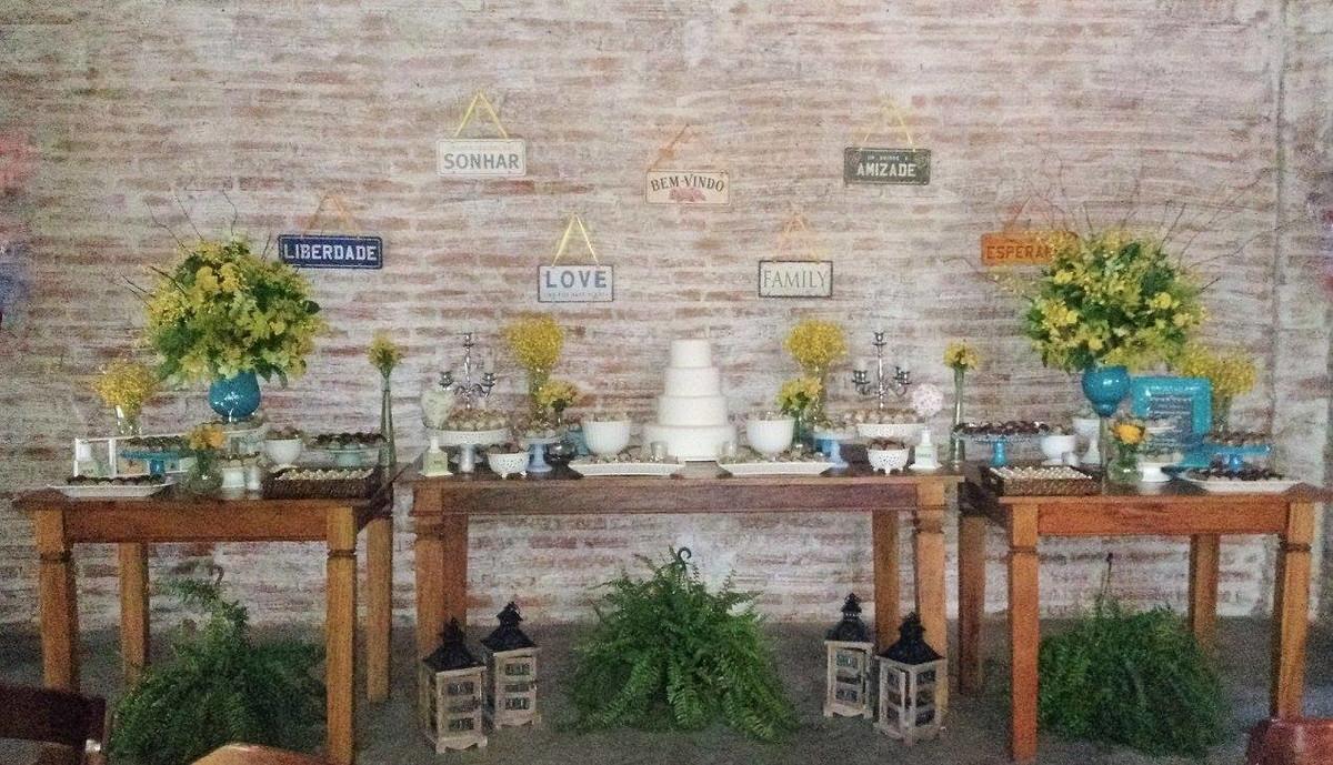 Suficiente Mini Wedding -Decoração rústica no Elo7 | Balaio de Emoções (839734) DE07