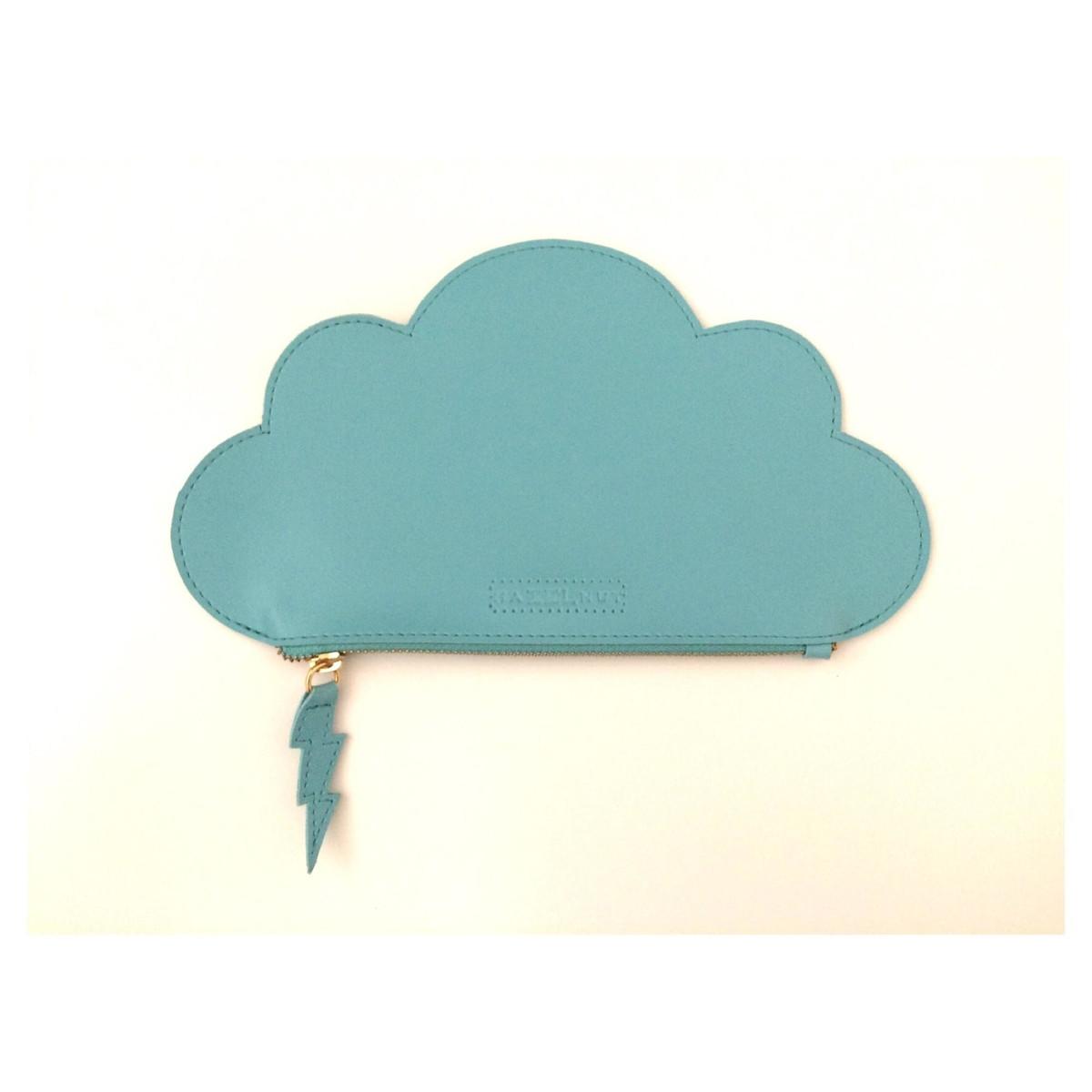 Clutch nuvem cor  verde no Elo7   HazelnutHazel (83F7B8) 649e709c05