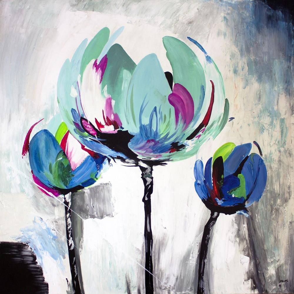 Quadro Pintura Tela Flor Espatula 2052 No Elo7 Meuri Quadros E
