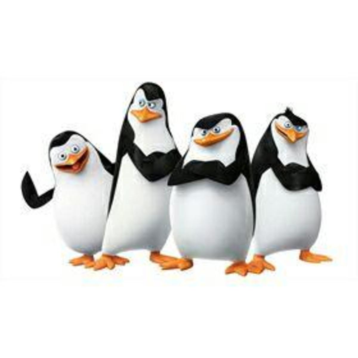 Adesivo Os Pinguins De Madagascar No Elo7