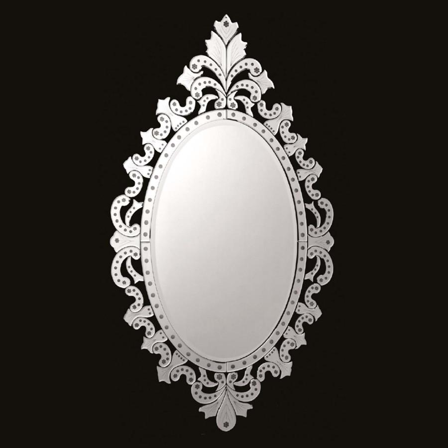 Espelho Veneziano Decorativo Grande Oval Everest Magazine Elo7 ~ Espelho Decorado Para Quarto E Quarto Feminino Vintage