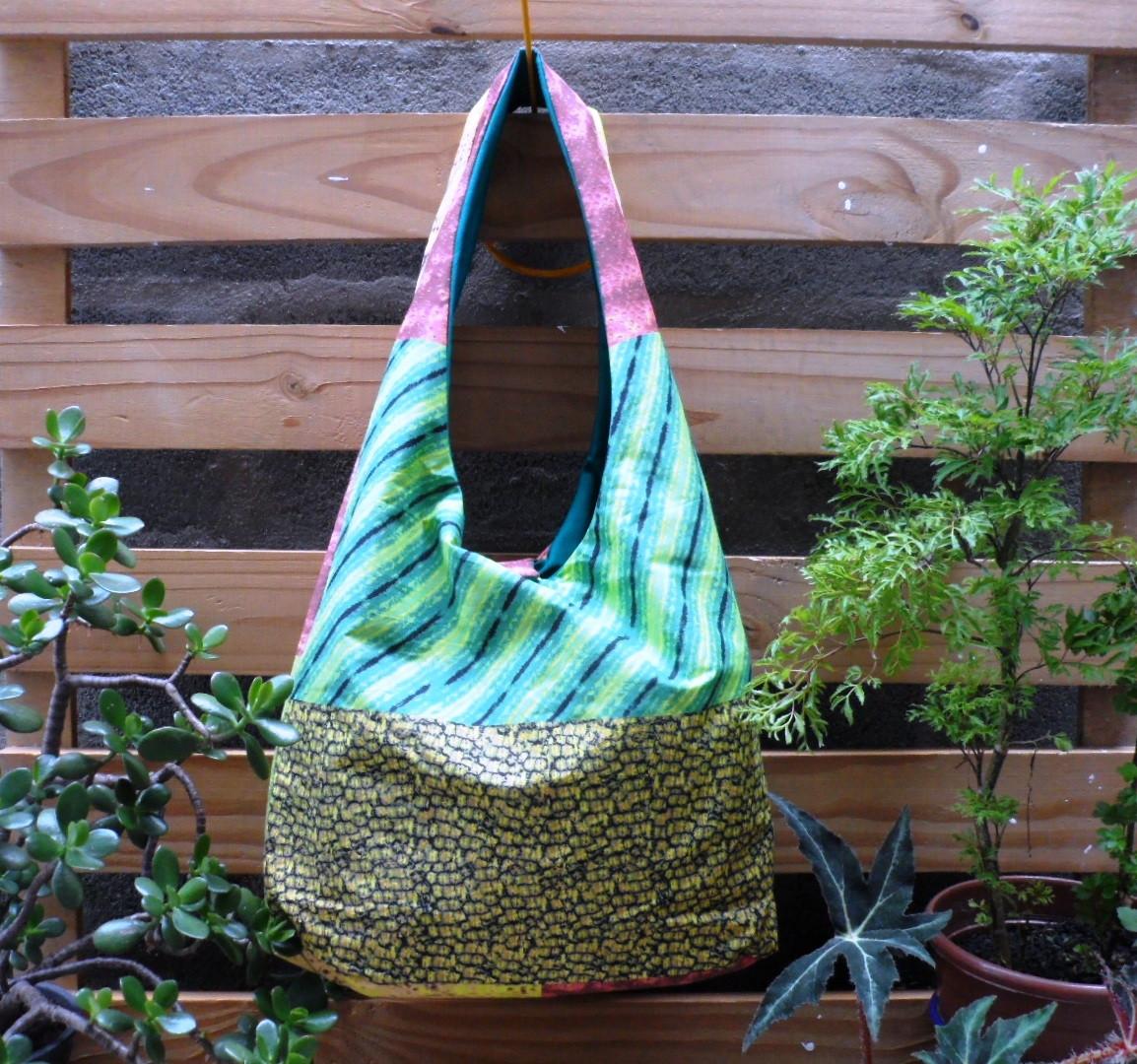 Bolsa Em Tecido Dupla Face : Bolsa de praia saco em tecido dupla face tropic?lia moda
