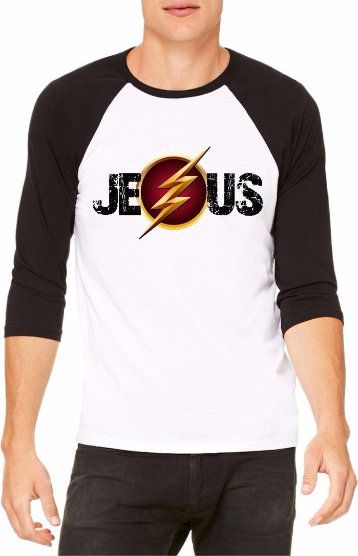 Camiseta Jesus Herói