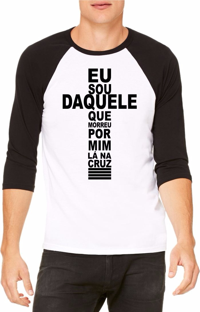 e4f165746 Camiseta Cruz de Jesus no Elo7