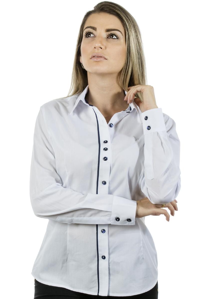 e26f302c12 Camisa Social Feminina Margaret - Piment no Elo7